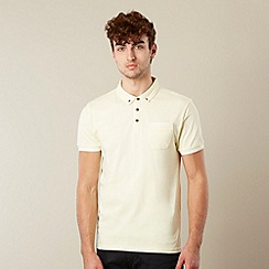 Red Herring - Pale yellow tipped polo shirt