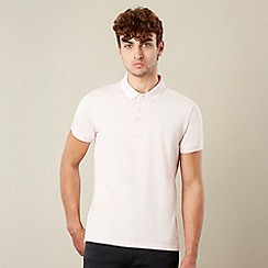Red Herring - Pale pink tipped polo shirt