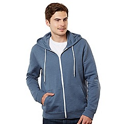 Red Herring - Light blue zip through sweatshirt