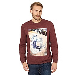 Help for Heroes - Maroon retro pinup sweater