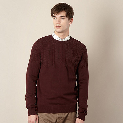 Red Herring - Maroon cable placement jumper