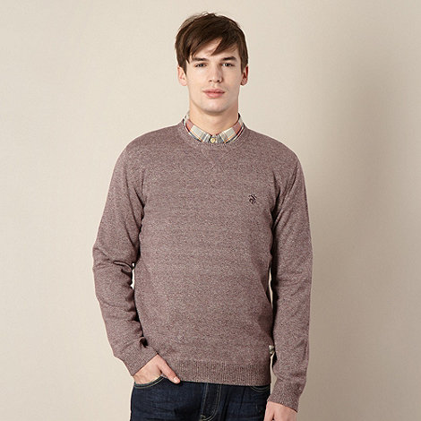 St George by Duffer - Red twisted yard plain jumper