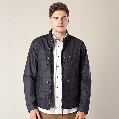 FFP - Navy waxed short jacket