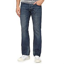 Red Herring - Blue mid wash bootcut jeans