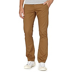 Red Herring - Dark tan slim fit chinos
