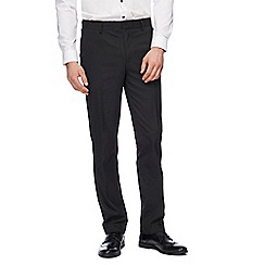 Red Herring - Big and tall black skinny fit trousers