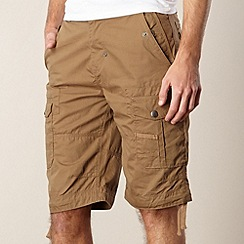FFP - Dark tan utility cargo shorts