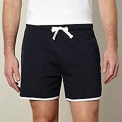 Red Herring - Navy jersey running shorts