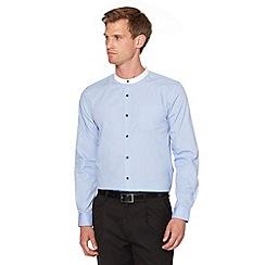 Red Herring - Light blue grandad shirt