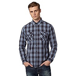 FFP - Navy checked shirt