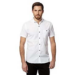 Red Herring - White plain short sleeved shirt