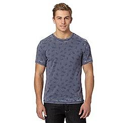 Red Herring - Blue burnout bicycle print t-shirt