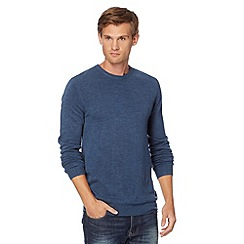 Red Herring - Blue marled crew neck jumper