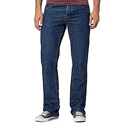 Red Herring - Mid blue washed bootcut jeans