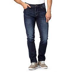 Red Herring - Dark blue skinny fit dark wash jeans