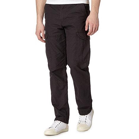 Red Herring - Dark grey cargo trousers