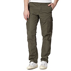 Red Herring - Khaki cargo trousers