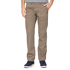Red Herring - Light grey straight leg chinos