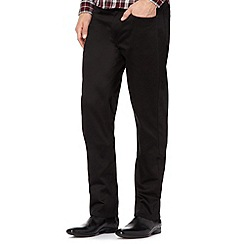 Red Herring - Black five pocket trousers