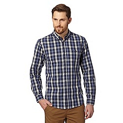 Red Herring - Blue checked button down shirt