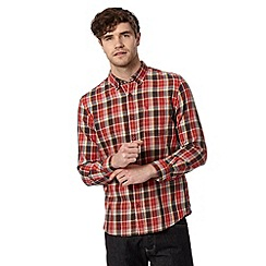 St George by Duffer - Red checked shirt