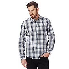 Red Herring - Blue checked chest pocket shirt