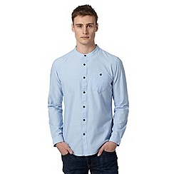 Red Herring - Light blue grandad neck shirt