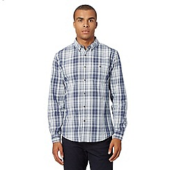Red Herring - Blue checked button down long sleeved shirt