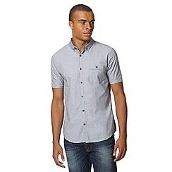 Red Herring - Grey mini dogtooth collar shirt