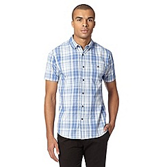 Red Herring - Blue checked short sleeve shirt