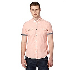 Red Herring - Light pink fine striped shirt