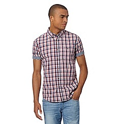 Red Herring - Red mini checked shirt