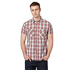Red Herring - Red checked utility shirt