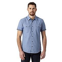 FFP - Blue mini dogtooth shirt