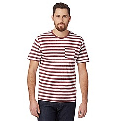 Red Herring - Red grindle striped t-shirt