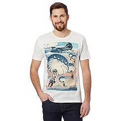 HELP for HEROES - Off white parachuting meerkats t-shirt