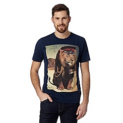 Help for Heroes - Navy lion medal t-shirt