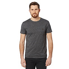 Red Herring - Dark grey buttoned pocket t-shirt