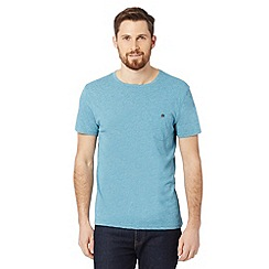 Red Herring - Turquoise buttoned pocket t-shirt