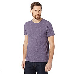 Red Herring - Purple buttoned pocket t-shirt