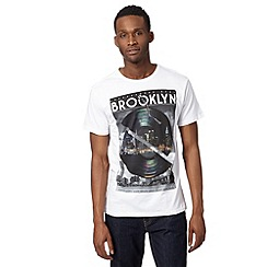 Red Herring - White record Brooklyn t-shirt