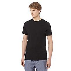 Red Herring - Black crew neck long length t-shirt
