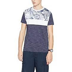 St George by Duffer - Navy bulldog on scooter print t-shirt