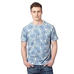 Red Herring - Blue floral t-shirt