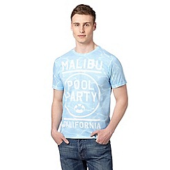 Red Herring - Light blue poolside 'Malibu' t-shirt