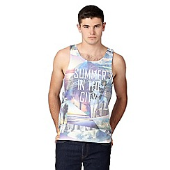 Red Herring - Blue 'Summer in the city' vest