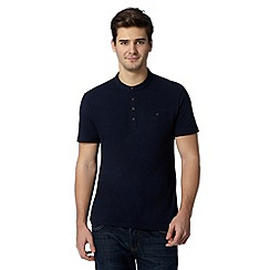 Red Herring - Navy smart pique t-shirt