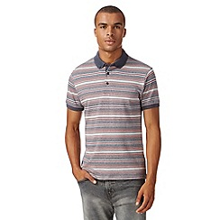 Red Herring - Grey contrast polo shirt