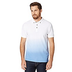Red Herring - Blue dip dye polo shirt