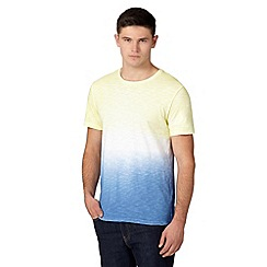 Red Herring - Yellow dip dye t-shirt
